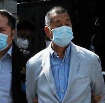 Hong kong news: हांगकांग के पत्रकार जिम्मी लाय गिरफ्तार